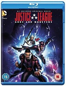 Justice League: Gods and Monsters [Blu-ray] [2015] [Region Free] [DVD]