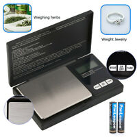 Pocket 1000g x 0.1g Digital Jewelry Gram Balance Weight Precise Scale Standard