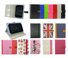 Universal Wallet Folio Case Cover with cards fits Bush Spira B3 8 Inch Tablet