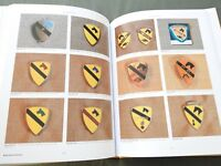 """SIGNED """"EMBLEMS OF HONOR ARMOR CAVALRY TANK DESTROYER"""" US PATCH REFERENCE BOOK"""