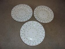 "3 Antique Mintons  9"" desert Plates- 1891"