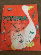 Petunia Roger Duvoisin True First Edition Not A Weekly Reader 1950