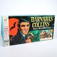 BARNABAS COLLINS Dark Shadows Board Game 1969 Milton Bradley COMPLETE NO FANGS