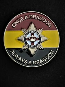 4th 7th Royal Dragoon Guards Colours Lapel Pin (C33)