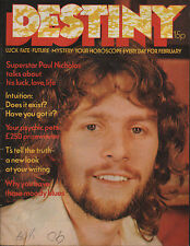 Paul Nicholas on Magazine Cover February 1973      Alan Bates      Mia Farrow