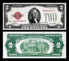 1928 UNC. $2.00 UNITED STATES BANKNOTE COPY NOTE PLEASE READ DESCRIPTION!