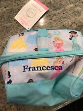 Pottery Barn Kids Mackenzie Disney Princess Retro Lunch Bag Mono Francesca New