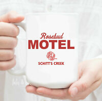 Rosebud Motel Coffee Mug Schitts Creek Rosebud Motel Funny Mug Coffee Gift Ew