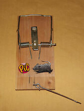 Vintage Rodent Control Big Old Rat Trap