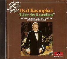 Bert Kaempfert - Live in London - CD - USED