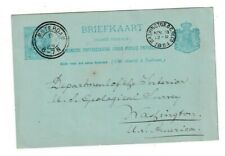 Netherlands Postal History: double circle cancel, Amsterdam 8Nov94 to Wash. Dc