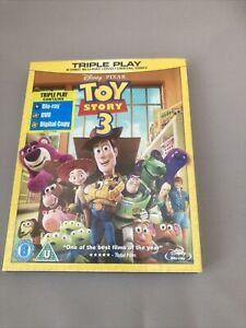 Toy Story 3 (BluRay+DVD+Digital Copy, 2010) Used