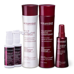 Keranique Deep Hydration Hair Regrowth Treatment System with Keratin, 60 Days