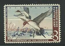 RW29 1962 Federal Duck Stamp (Morris) Premium Used Tiny Signed- Off Image-OFFER?