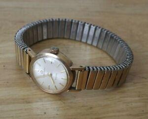 Sahida  Eterna-matic Swiss Made Automatic 9ct Gold Watch. Working. (Hospiscare)