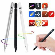 Digital Active Stylus Pen Pencil For Apple iPad Touchscreen Fine Tip 1.5mmFast