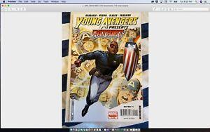 🇺🇸Young Avengers Presents-Patriot #1:Eli Bradley/Y.Avengers/W.Soldier (2008)🔥