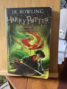 Harry Potter and the Chamber of Secrets by J. K. Rowling Paperback Book