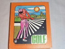 Vintage 1971 Hoyle Stancraft Super Sport Series of Golf Card Bookshelf Game