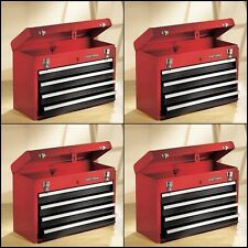 Craftsman 4 Drawer Chest w/ Large Top Compartment Tool Box Carry Portable
