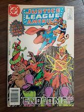 DC COMICS JUSTICE LEAGUE AMERICA #223 Bronze Age