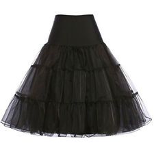 Women 1950's Retro Dress Petticoat Jupon Crinoline Tutu Underskirts Rockabilly