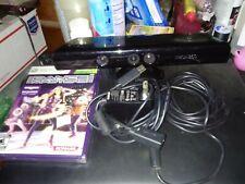 Microsoft Xbox 360 KINECT Motion Sensor Bar Black Model 1414 w/ Power Supply