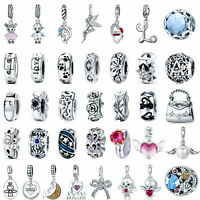 Wostu DIY European Beads 925 Sterling Silver Charms Dangle Pendant Fit Bracelet