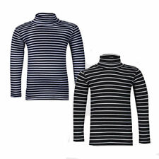 Blue T-Shirt Striped T-Shirts & Tops (2-16 Years) for Girls