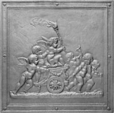 Piastra,Piana,Camino,Ornata,Figurata,Ghisa,Naturale,BBQ, 45x45 cm  LB-PIAORN3