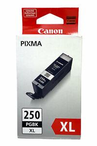 NEW Canon PGI-250 BK XL Black PGI-250BKXL Ink Cartridge  GENUINE Ships Fast
