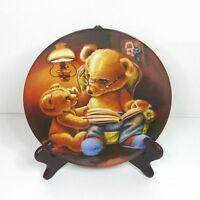Teddy und seine Freunde Sammelteller  mit Holzrahmen (2)