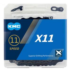 KMC X11 Chain 11 Speed 116 Links Chain X11 MTB Road Hybrid Bike Bicycle Cycle US
