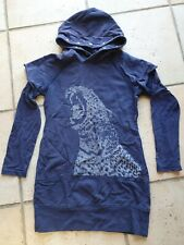 ROBE SWEAT A CAPUCHE IKKS TAILLE 8 ANS
