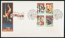 MayfairStamps Australia FDC 1997 Circus Anniversary Block First Day Cover wwr560