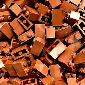 LEGO Basic Steine 1x2 (3004) | 50 Stück | 12 Farben zur Auswahl | Neu