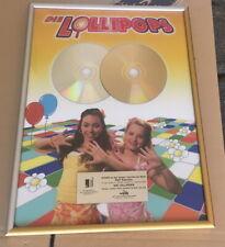 Gold Platin Award - goldene Schallplatte - Die Lollipops - Tanz´mit uns - Party