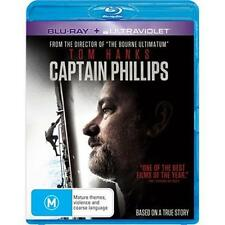 Captain Phillips (Blu-ray, 2014) NEW