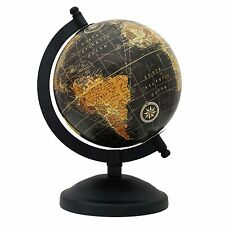 ROTATING WORLD MAP GLOBES TABLE DECOR OCEAN GEOGRAPHICAL EARTH DESKTOP GLOBE1397