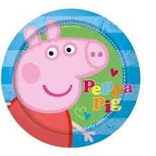 PEPPA PIG SET 8 PIATTI CARTONCINO CM.23 FESTA PARTY COMPLEANNO 190946