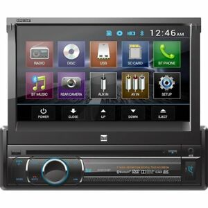 Dual XDVD136 7 DVD Multimedia Receiver with Built-in Bluetooth XDVD136BT