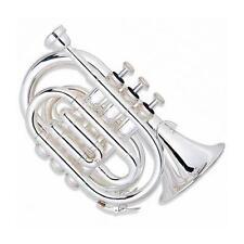 Ravel RPKT1 Pocket Trumpet - Silver RPKT1SLVR