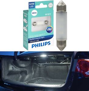 Philips Ultinon LED Light 6411 White 6000K One Bulb Trunk Cargo Replace Lamp OE