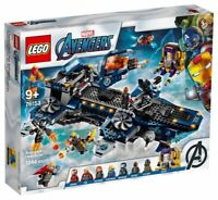 Lego Marvel Avengers Helicarrier 76153 Building Kit 1244 Pcs