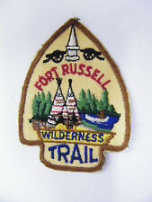 Vintage Fort Russell Wilderness Trail BSA Patch