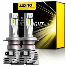 AUXITO ERROR FREE H7 LED Headlight Bulbs Kit High Low Beam 6500k 200W 24000LM M3