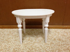 2005 Barbie Doll Totally Real House Oval White Table Dining Room Furniture