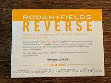 Rodan + Fields Reverse Brightening TRAVEL SIZE Regimen Mini - Exp 02/2021