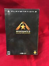 Resistance 2 Collector's Edition (Sony PlayStation 3, 2008) USED