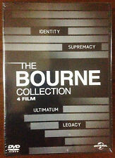 THE BOURNE COLLECTION - BOX 4 DVD